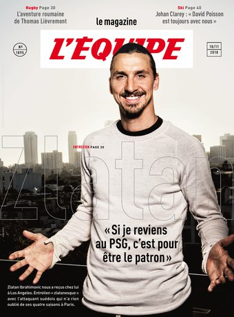 Magazine L'Équipe - 09/11/2018 |