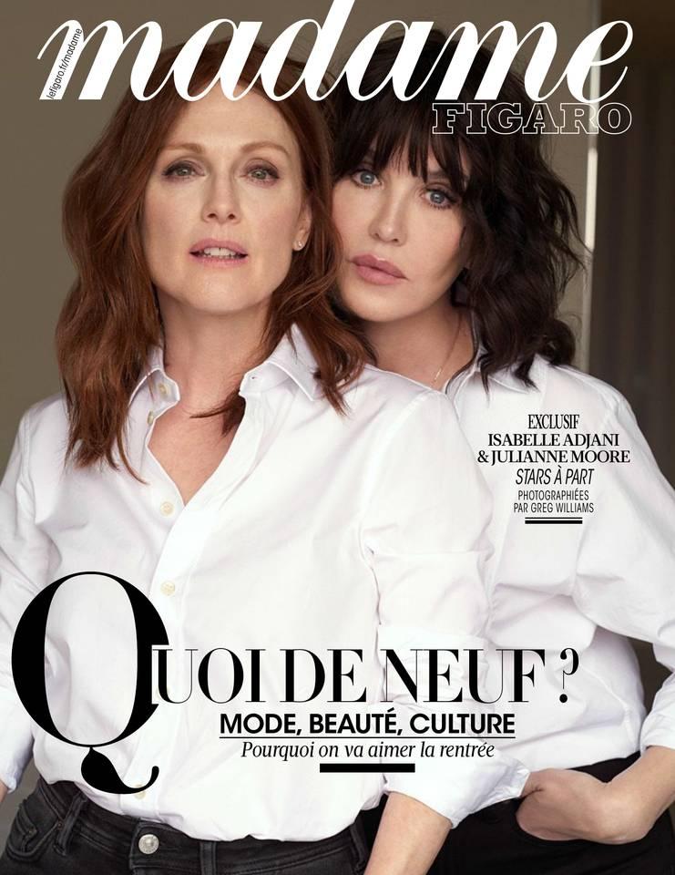 Madame Figaro du 17 août 2018 à télécharger sur iPad