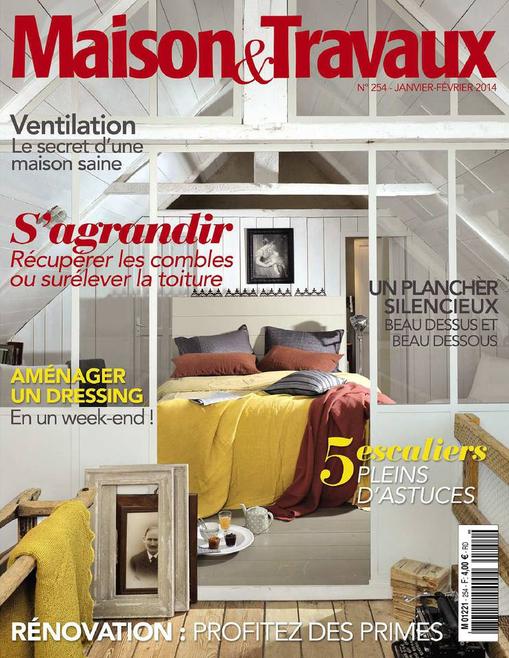 maison et travaux n 254 du 08 janvier 2014 t l charger sur ipad. Black Bedroom Furniture Sets. Home Design Ideas