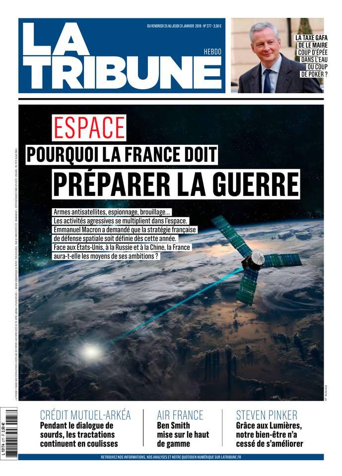 La Tribune Hebdomadaire du 25 janvier 2019 à télécharger sur iPad