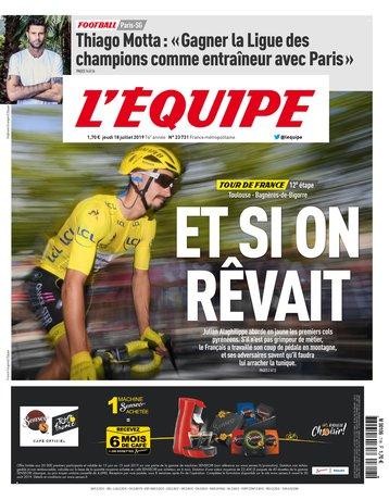 L'Équipe - 18/07/2019 |
