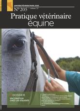 Couverture du dernier numero de Pratique Vétérinaire Équine