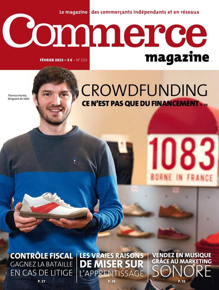 Commerce Magazine N°153 du 01 février 2015 à télécharger sur iPad