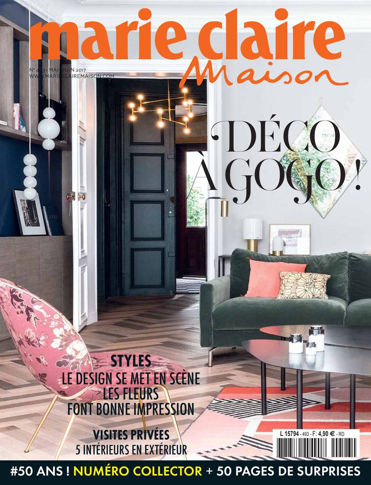 marie claire maison n 493 du 05 avril 2017 t l charger sur ipad. Black Bedroom Furniture Sets. Home Design Ideas