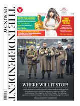 Une - The Independent on Sunday 02 mars 2014