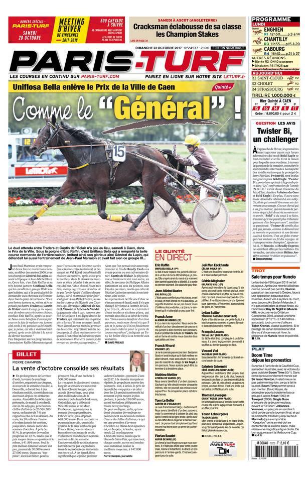 Abonnement Paris Turf Pas Cher avec le BOUQUET ePresse.fr