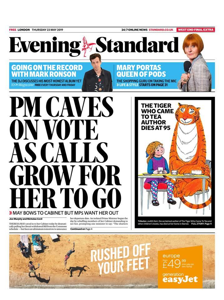 Abonnement London Evening Standard Pas Cher avec le BOUQUET ePresse.fr