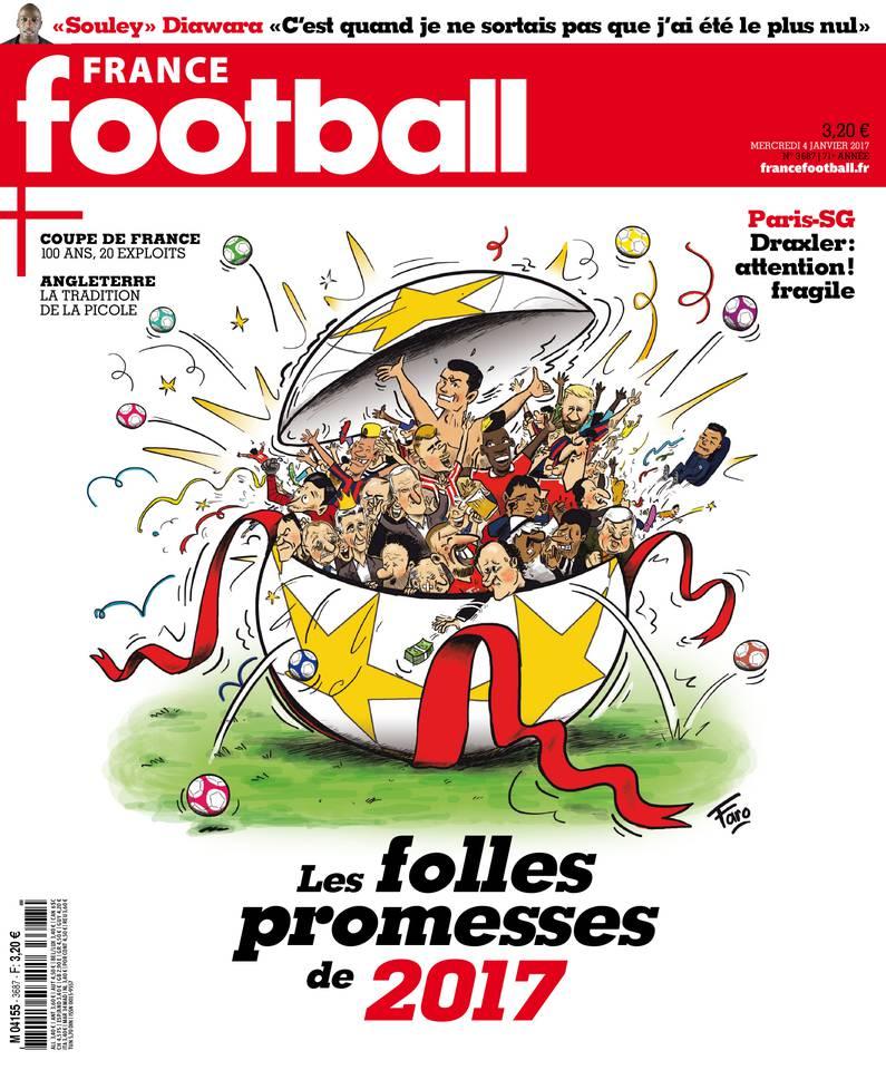 France Football du 03 janvier 2017 à télécharger sur iPad