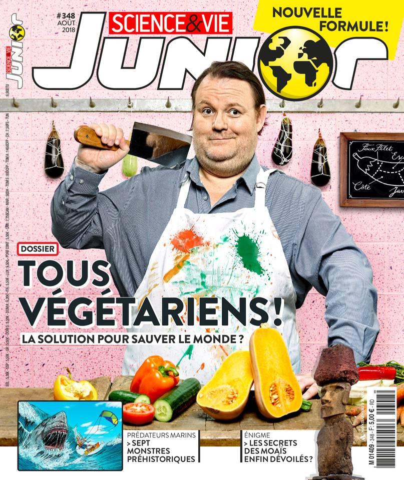 Abonnement Science & Vie Junior avec le BOUQUET d'ePresse.fr