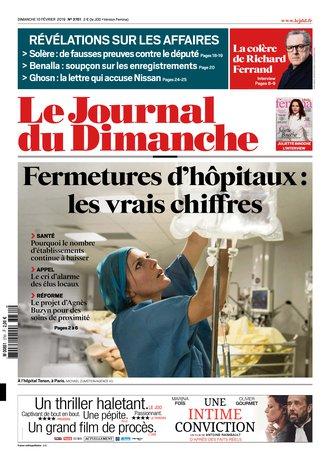 Le Journal du Dimanche - 3761  