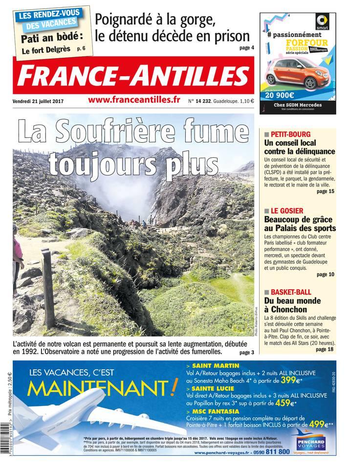 Abonnement France-Antilles Guadeloupe Pas Cher avec le BOUQUET ePresse.fr