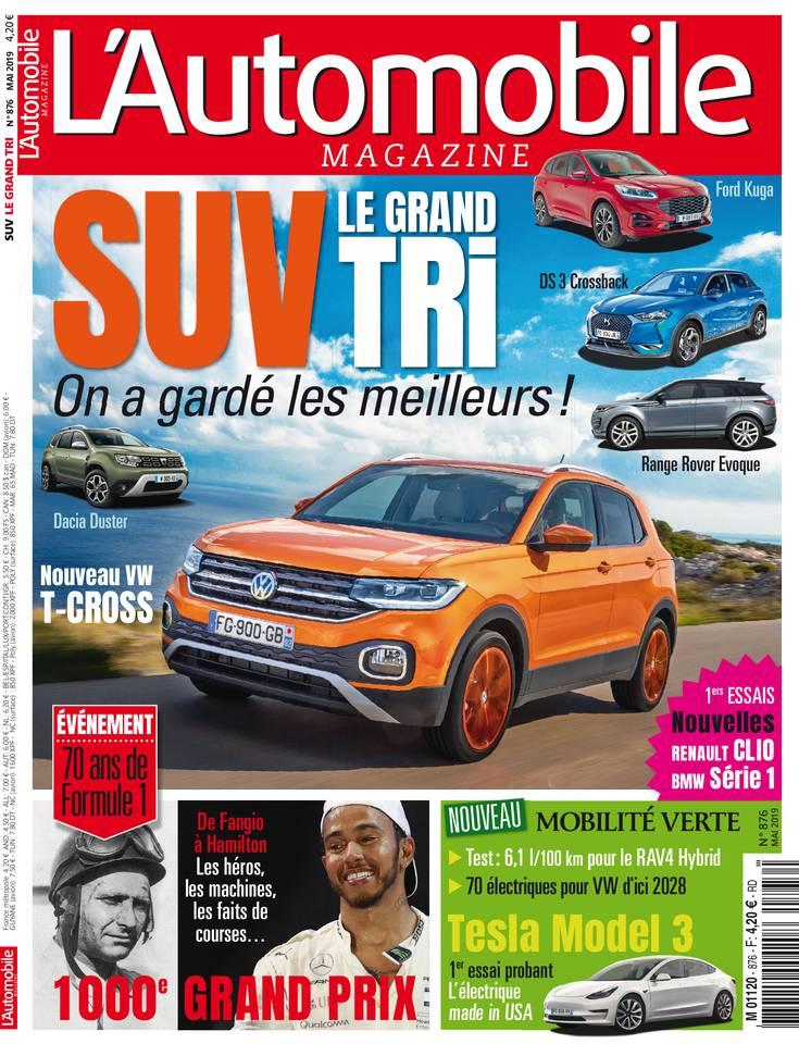 Abonnement L'Automobile Magazine Pas Cher avec le BOUQUET ePresse.fr